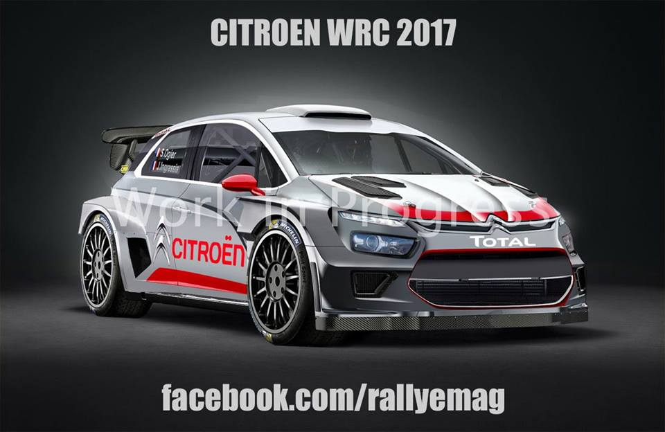la nuova citroen wrc a 360. Black Bedroom Furniture Sets. Home Design Ideas